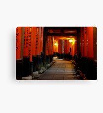 Kyoto - Fushimi Inari Taisha Canvas Print