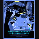 Pinocchio's Dream of Electric Sheep by HallStudio