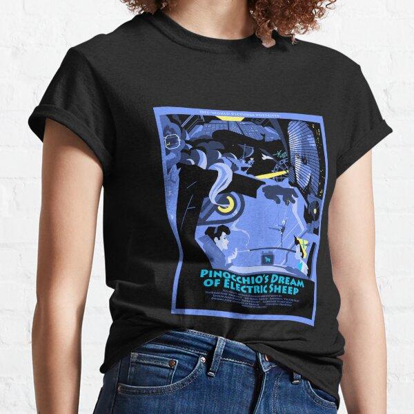 Pinocchio's Dream of Electric Sheep Classic T-Shirt
