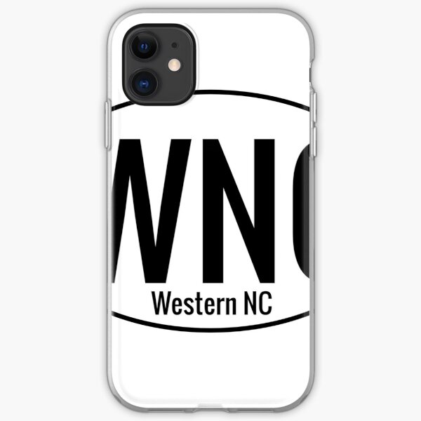WNC Location Sticker iPhone Soft Case