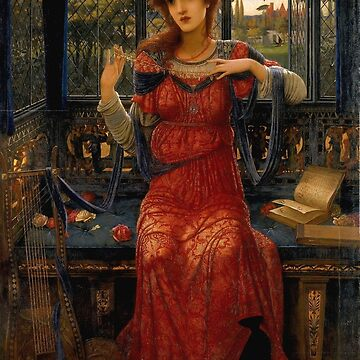 "John Melhuish Strudwick ""Oh, swallow, swallow"" by ALD1"