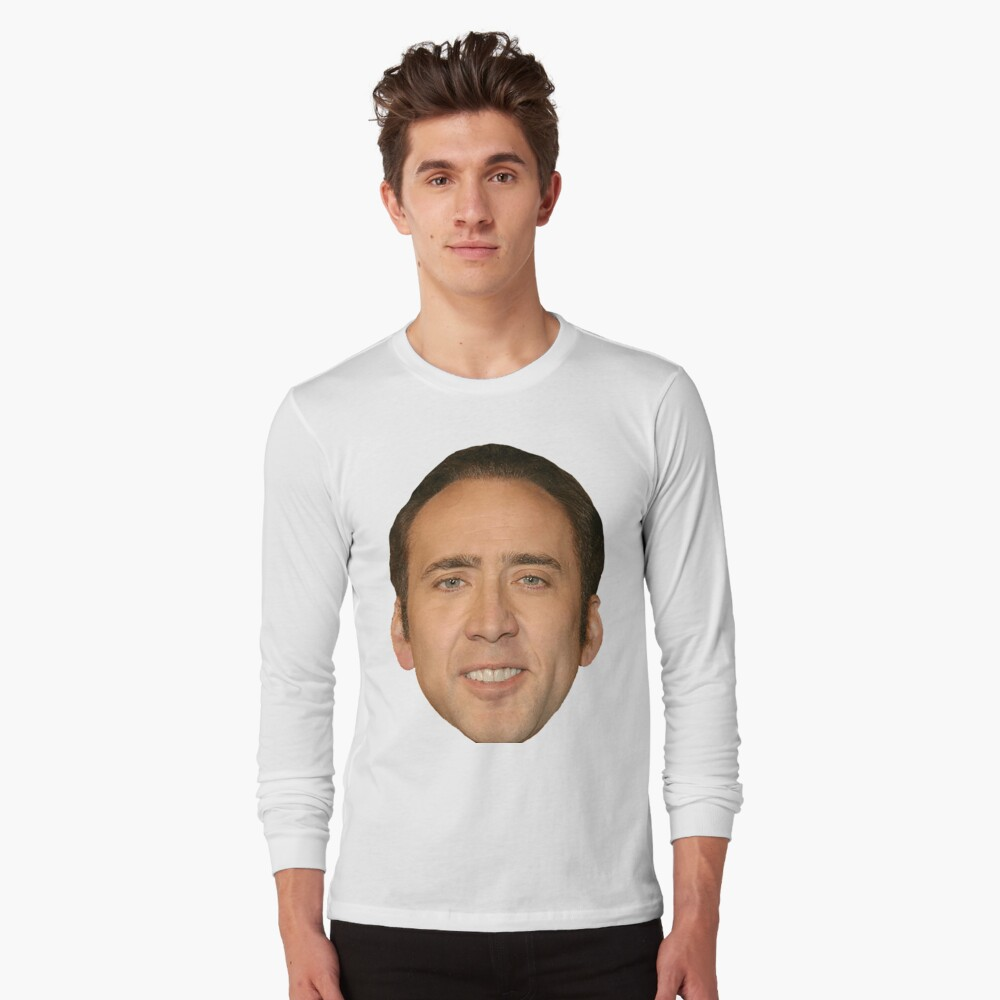 nicolas cage Long Sleeve T-Shirt