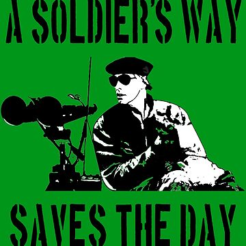 A Soldier's Way Saves The Day - The Burbs Quote by everything-shop