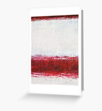 Simply Red 1 Greeting Card