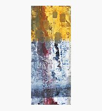 So Gradual The Grace - abstract mixed media painting on canvas Photographic Print