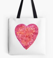 BE MY VALENTINE - watercolor heart painting Tote Bag