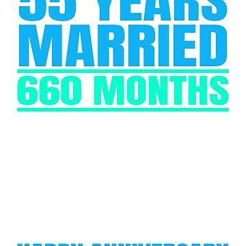 55th Wedding Anniversary by dealzillas