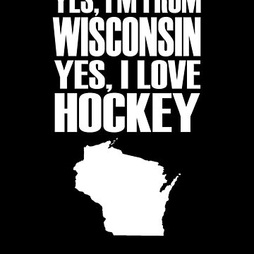 Wisconsin Hockey by jzelazny