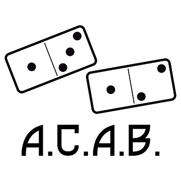 Domino Acab 1312 by mBshirts