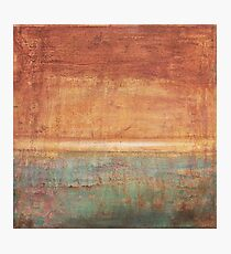 Another Time - abstract oil painting on canvas Photographic Print