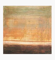 Wherever we go - abstract oil painting on canvas Photographic Print