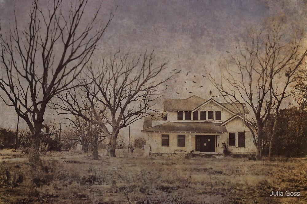 Spooky old house by Julia Goss