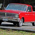 Stolen Red Pickup #3 by Bryan D. Spellman