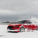 Audi S3 - Snow Drifting - 6 by Scott McKellin