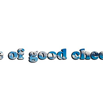 Be of good cheer! by Miracles