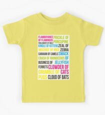 Animal Groups Kids Tee
