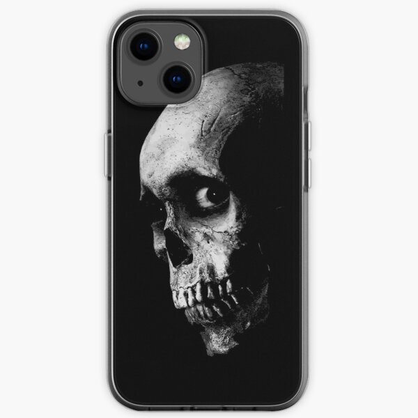 Evil Skull iPhone Soft Case