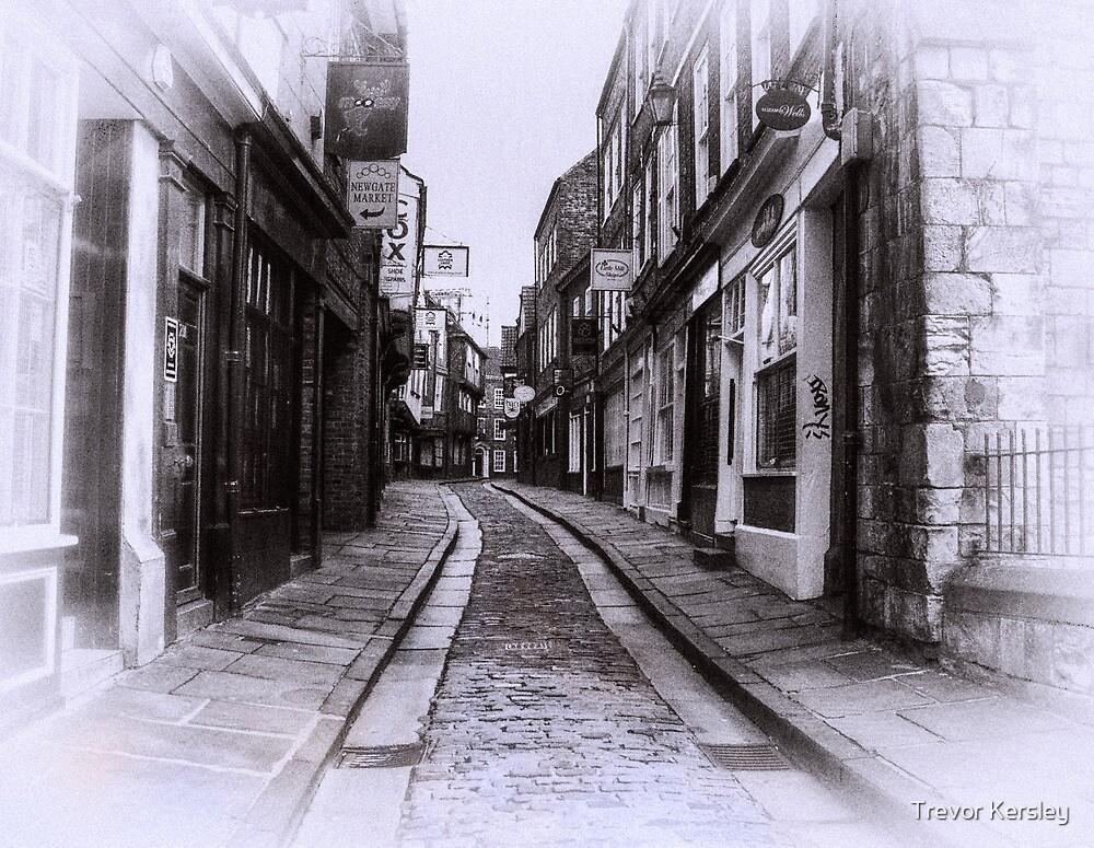 Shambles  - York by Trevor Kersley