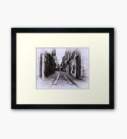Shambles  - York Framed Print