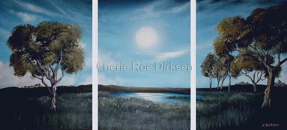 Reflections on a Lake by Cherie Roe Dirksen