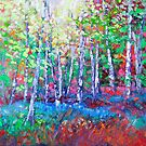 Blue Bell & Silverbirch Forest by HelenBlair