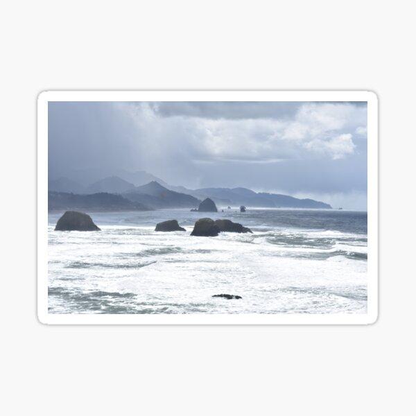 Waves, Waves, Waves Sticker