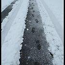 Footprints In The Snow by Nokie