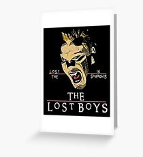 Lost in the Shadows Greeting Card