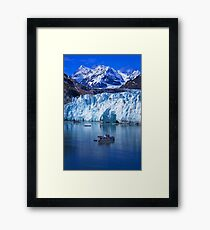 Serenity - Beautiful Glacier Bay - Alaska Framed Print