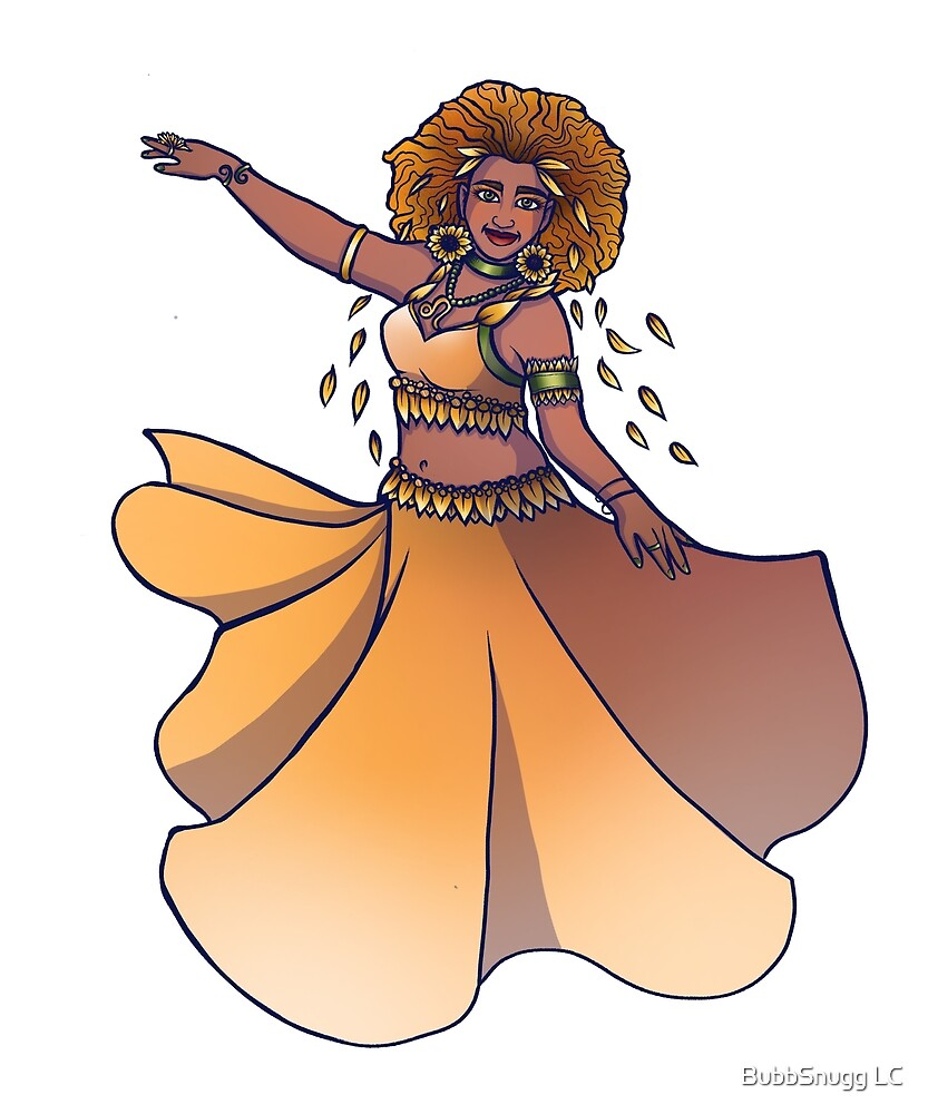 Leo Zodiac Belly Dancer Goddess by BubbSnugg LC