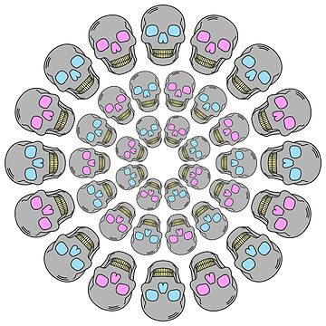 Circle Skulls by codyjoseph