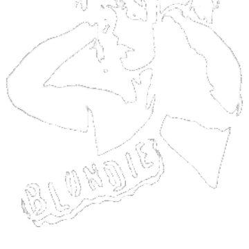 stencil Blondie by Jack64427
