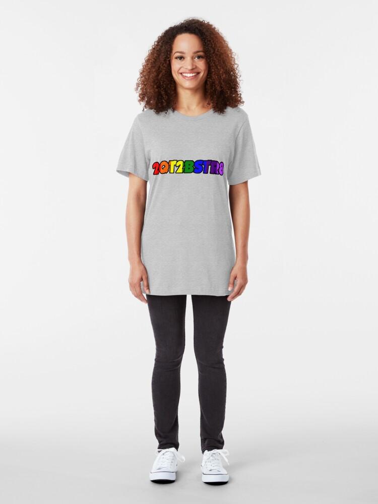 Alternate view of 2QT2BSTR8 Slim Fit T-Shirt