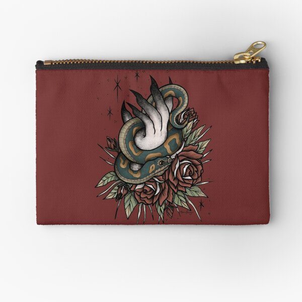 Snake with Hand Zipper Pouch