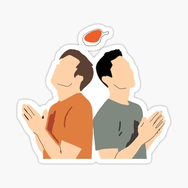 TMG Cody & Noel Sticker