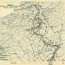 Zwölfter Heeresgruppe Lageplan 28. Dezember 1944 von allhistory