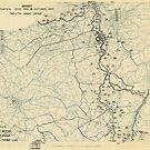Zwölfter Heeresgruppe Lageplan 16. Oktober 1944 von allhistory