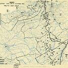 Zwölfter Heeresgruppe Lageplan 4. Oktober 1944 von allhistory