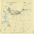 Zwölfter Armeegruppen - Lageplan 12. Juni 1944 von allhistory