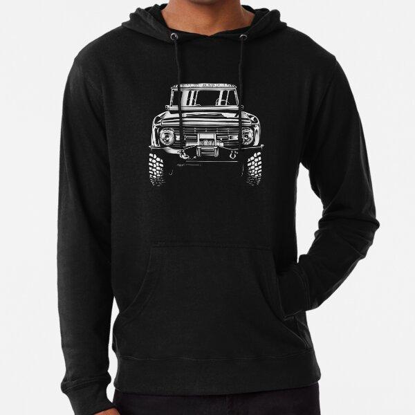Ford Bronco Classic Truck T-Shirt Lightweight Hoodie
