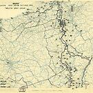 Zwölftes Heeresgruppe Lageplan 20. Oktober 1944 von allhistory