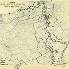 Zwölfter Heeresgruppe Lageplan 22. Oktober 1944 von allhistory