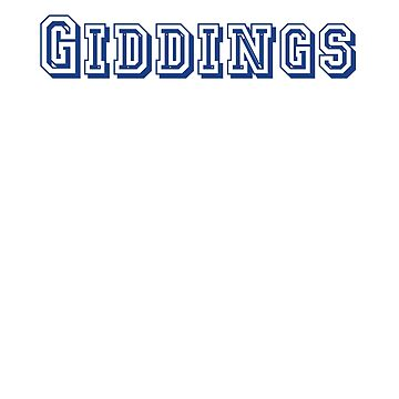 Giddings by CreativeTs