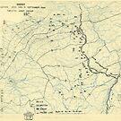 Zwölfter Armeegruppe - Lageplan 11. September 1944 von allhistory