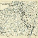 Zwölftes Heeresgruppe Lageplan 19. Dezember 1944 von allhistory