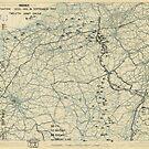 Zwölfter Armeegruppe - Lageplan 15. September 1944 von allhistory