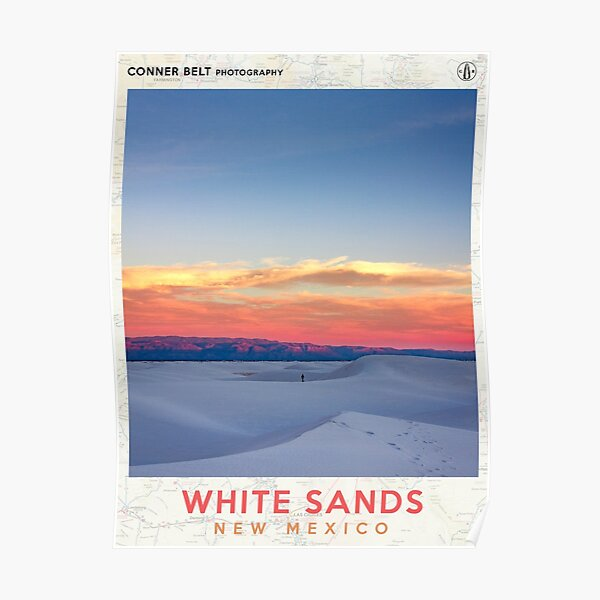 White Sands Poster Poster