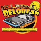 Doc E. Browns Time Travelling Delorean by McPod