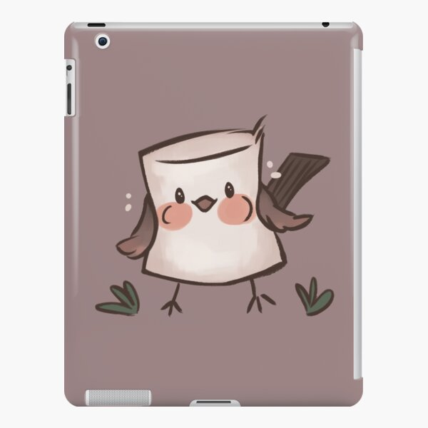 Marshmallow Bird (textless) iPad Snap Case