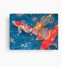 Swim in the Bubbly Canvas Print